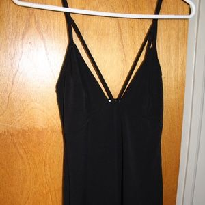 Tobi Dress Black bodycon strappy size medium